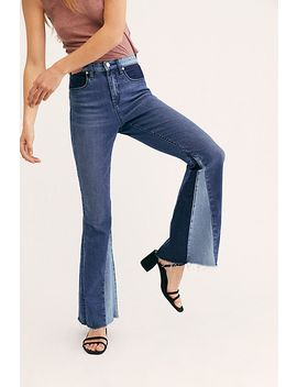 Blank Nyc Mix And Match Flare Jeans by Blank Nyc
