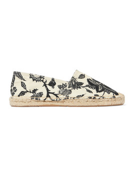 Canaee Floral Print Canvas Espadrilles by Isabel Marant