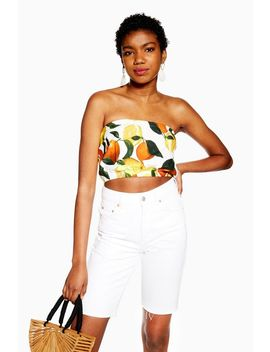 Fruit Bandeau Top by Topshop