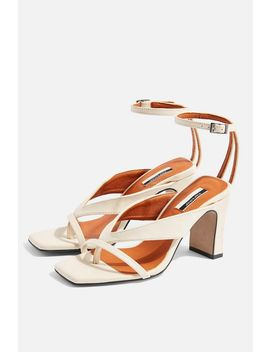 Reid Vegan Stone Strappy Sandals by Topshop