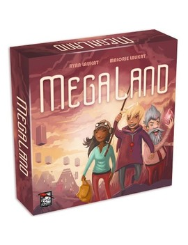 Megaland Board Game by Red Raven Games