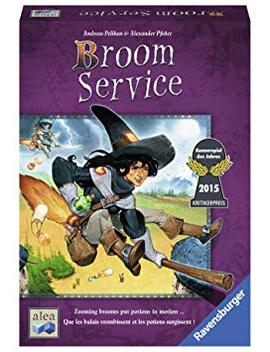 Ravensburger Broom Service   Strategy Game by Ravensburger