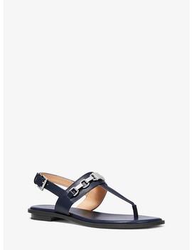 Charlton Leather Sandal by Michael Michael Kors