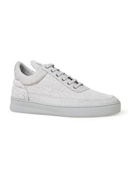 Low Top Plain Sneaker Van Leer by Filling Pieces