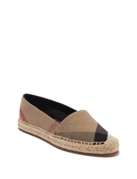 Hodgeson Espadrille Flat by Burberry