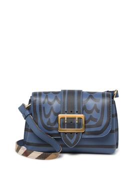 Leather Crossbody Bag by Burberry