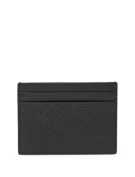 Sandon Lasercut Leather Card Case by Burberry