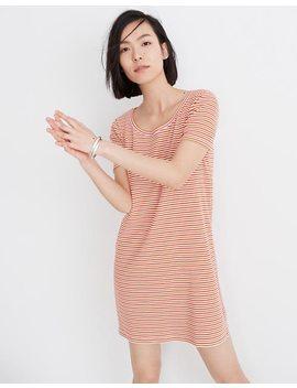 Swingy Tee Dress In Stripe by Madewell