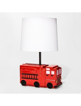Firetruck Figural Table Lamp   Pillowfort by Pillowfort