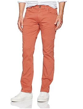 Paige Men's Normandie Slim Straight Pants In Ginger Root by Paige