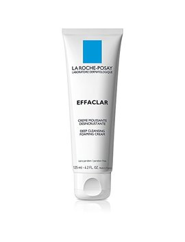 La Roche Posay Effaclar Deep Cleansing Foaming Cream Cleanser, 4.2 Fl. Oz. by La Roche Posay
