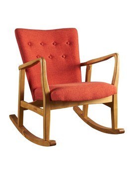 Callum Mid Century Rocker   Christopher Knight Home by Christopher Knight Home