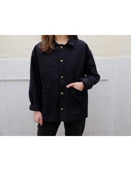 The Worker's Jacket : A Traditional Unisex Workwear Jacket In Heavy British Twill by Etsy