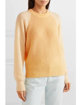Jack Color Block Open Knit Sweater by Stine Goya