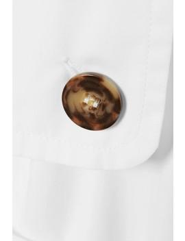 Cotton Poplin Shirt by Cédric Charlier