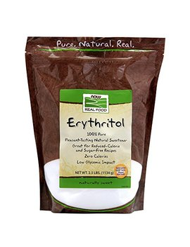 Now Foods, Erythritol, Natural Sweetener, 2.5 Lbs (1134 G) by Now Foods