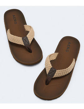 Woven Rope Strap Flip Flop by Aeropostale
