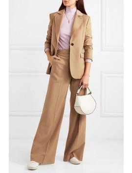 Ludlow Wool Blend Wide Leg Pants by Alexachung