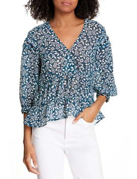 Blanche Floral Print Top by Ba&Sh