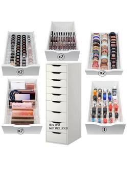 Ikea Alex 9 Drawer Divider Set Acrylic Makeup Organizer by Etsy