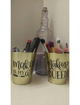 Decorative Make Up Storage Set Of 2 by Etsy
