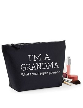 Grandma Thank You Gift Women's Make Up Accessory Bag Mothers Day by Etsy