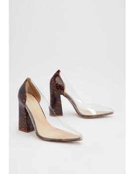 Clearly The One Tortoiseshell Court Heels by Nasty Gal
