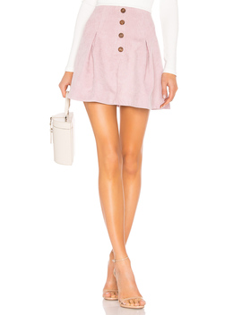 Kendall Button Front Skirt by Tularosa