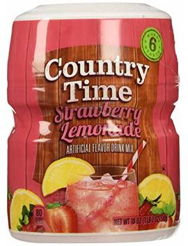 Country Time Strawberry Lemonade   Flavor Drink Mix (510g) by Country Time