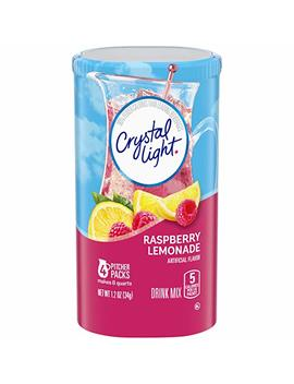 Crystal Light Raspberry Lemonade Drink Mix 34g by Crystal Light