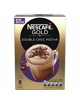 NescafÉ Gold Double Choc Mocha Coffee, 8 Sachets (Pack Of 6, Total 48 Sachets) by NescafÉ