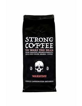 Strong Coffee ☠ Wakes The Dead, Intense Body And Full Flavour, 500g Beans ★ New Introduction Low Price ★ Free Fast Delivery ★ Highly Caffeinated Bold Coffee by Alchemist Coffee