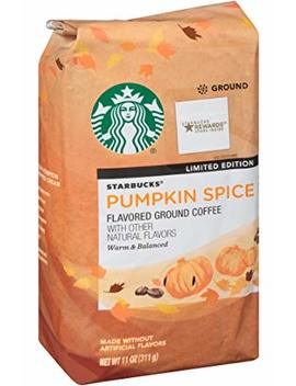 Starbucks Pumpkin Spice Flavoured Ground Coffee 11oz (311g) by Starbucks