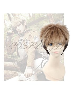 Cosplaza Attack On Titan Shingeki No Kyojin Jean Kirstein Gradients Anime Cosplay Wig by Cosplaza