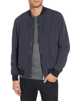 Cotton Blend Bomber Jacket by Eleventy
