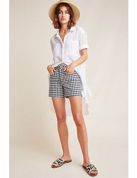 Picnic Gingham Shorts by Anthropologie
