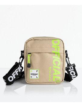 Official Desert Volt Utility Shoulder Bag by Official Crown Of Laurel