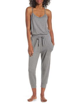 One Up Crop Jumpsuit by Zella