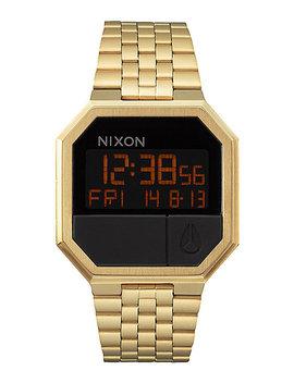 Nixon Re Run Gold Digital Watch by Nixon Watches
