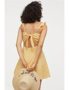 Kjole Med åben Ryg by H&M