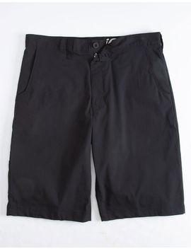Dickies Black Mens Hybrid Shorts by Dickies