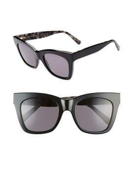 D'blanc Beach Vida 53mm Square Cat Eye Sunglasses by Dblanc