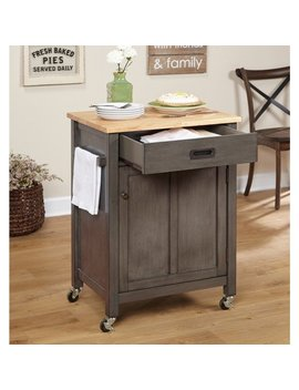 Simple Living Jacksonville Rolling Kitchen Cart by Simple Living