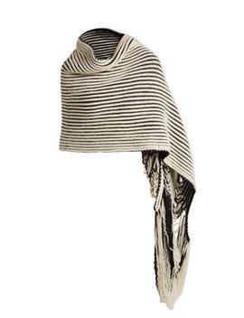 Virgin Wool Knit Scarf by Balenciaga