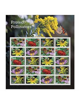 Protect Pollinators Sheet Of 20 Forever Usps First Class One Ounce Postage Stamps Environment Wedding Party by Usps