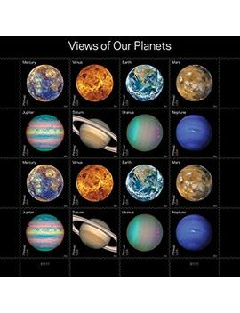 Views Of Our Planets Usps Forever Postage Stamps Sheet Of 16 Self Adhesive 1 Sheet Of 16 Stamps by Usps