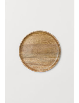 Small Wooden Serving Dish by H&M
