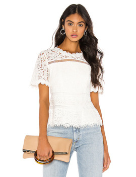 Eloise Lace Top by Bardot