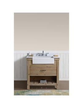 "Marina 36"" Bathroom Vanity Driftwood Finish by Ari Kitchen & Bath"
