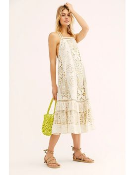 Every Eyelet Midi Dress by Free People